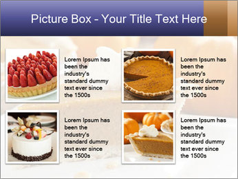 Fresh Homemade Pumpkin Pie PowerPoint Templates - Slide 14