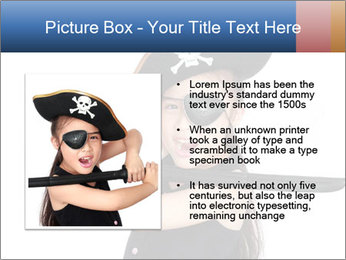 Pirate girl PowerPoint Template - Slide 13