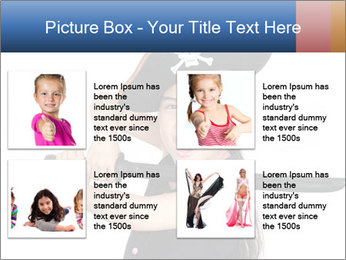 Pirate girl PowerPoint Template - Slide 14