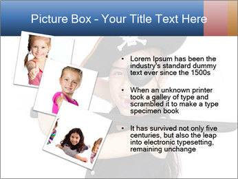 Pirate girl PowerPoint Template - Slide 17