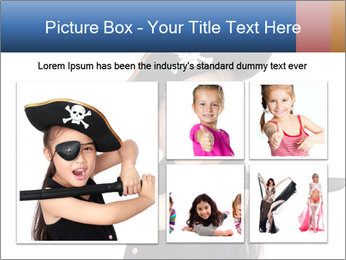 Pirate girl PowerPoint Template - Slide 19