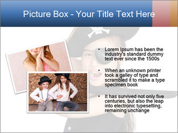 Pirate girl PowerPoint Template - Slide 20