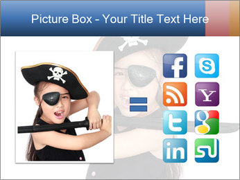 Pirate girl PowerPoint Template - Slide 21