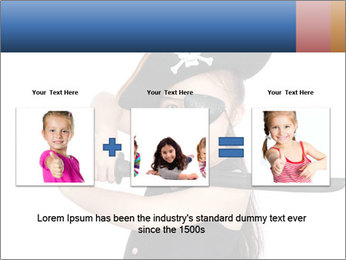 Pirate girl PowerPoint Template - Slide 22