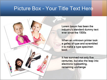 Pirate girl PowerPoint Template - Slide 23