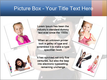 Pirate girl PowerPoint Template - Slide 24