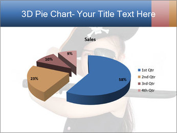 Pirate girl PowerPoint Template - Slide 35