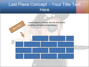 Pirate girl PowerPoint Template - Slide 46