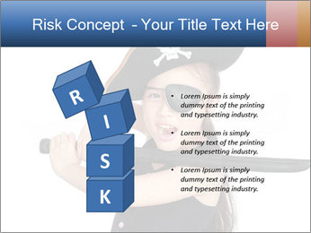 Pirate girl PowerPoint Template - Slide 81