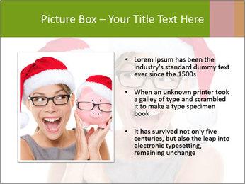 Christmas glasses PowerPoint Templates - Slide 13