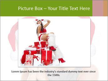 Christmas glasses PowerPoint Templates - Slide 16