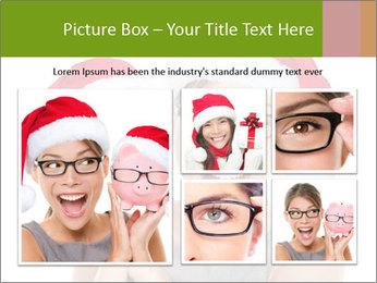 Christmas glasses PowerPoint Templates - Slide 19