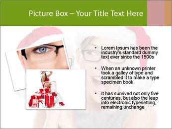 Christmas glasses PowerPoint Templates - Slide 20