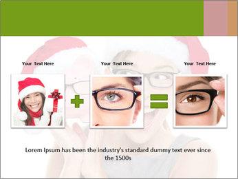 Christmas glasses PowerPoint Templates - Slide 22