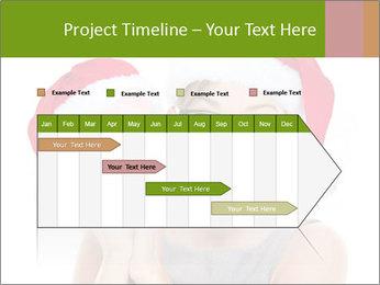 Christmas glasses PowerPoint Templates - Slide 25