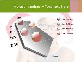 Christmas glasses PowerPoint Templates - Slide 26