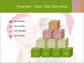 Christmas glasses PowerPoint Templates - Slide 31