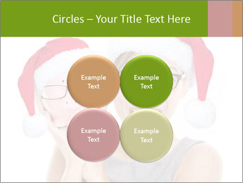 Christmas glasses PowerPoint Templates - Slide 38