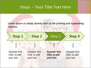 Christmas glasses PowerPoint Templates - Slide 4