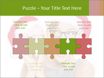 Christmas glasses PowerPoint Templates - Slide 41