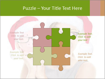 Christmas glasses PowerPoint Templates - Slide 43