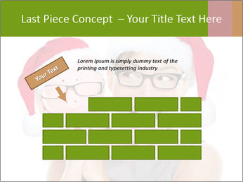 Christmas glasses PowerPoint Templates - Slide 46