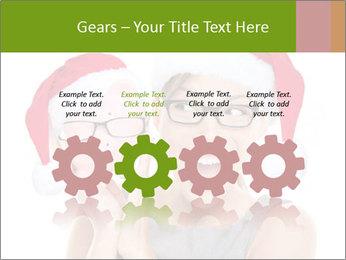 Christmas glasses PowerPoint Templates - Slide 48