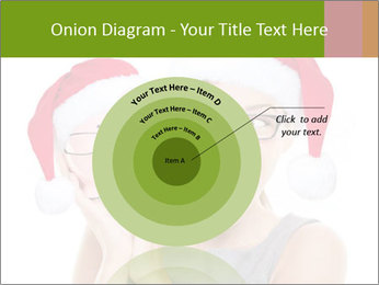 Christmas glasses PowerPoint Templates - Slide 61