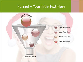 Christmas glasses PowerPoint Templates - Slide 63