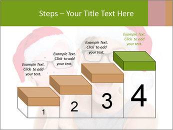 Christmas glasses PowerPoint Templates - Slide 64