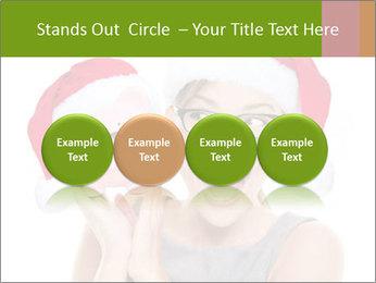 Christmas glasses PowerPoint Templates - Slide 76