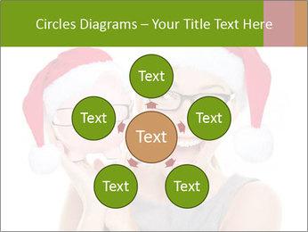 Christmas glasses PowerPoint Templates - Slide 78