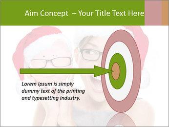 Christmas glasses PowerPoint Templates - Slide 83