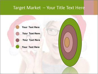 Christmas glasses PowerPoint Templates - Slide 84