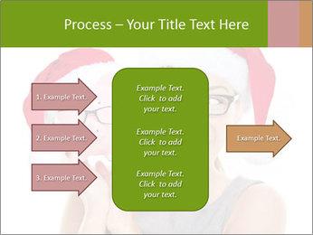 Christmas glasses PowerPoint Templates - Slide 85