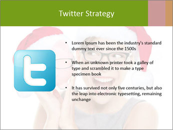Christmas glasses PowerPoint Templates - Slide 9