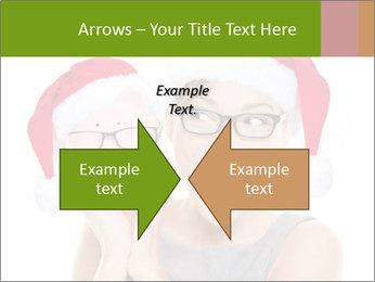 Christmas glasses PowerPoint Templates - Slide 90