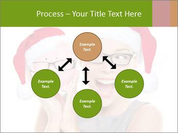 Christmas glasses PowerPoint Templates - Slide 91
