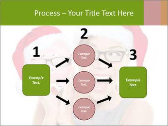 Christmas glasses PowerPoint Templates - Slide 92