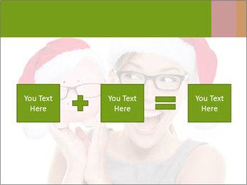 Christmas glasses PowerPoint Templates - Slide 95