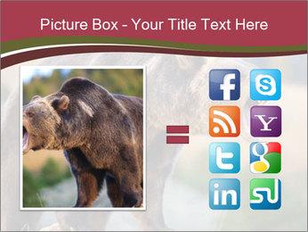 Brown Bear PowerPoint Templates - Slide 21