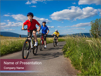 Active family PowerPoint Templates - Slide 1