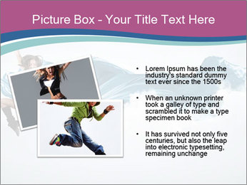 Young woman dancer PowerPoint Templates - Slide 20