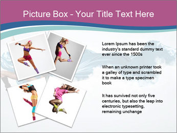 Young woman dancer PowerPoint Templates - Slide 23