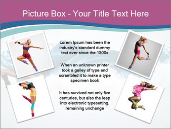 Young woman dancer PowerPoint Templates - Slide 24