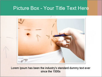 Woman belly marked PowerPoint Templates - Slide 16