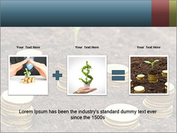 Money growth concept. PowerPoint Template - Slide 22