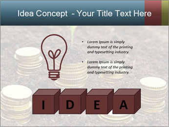 Money growth concept. PowerPoint Template - Slide 80