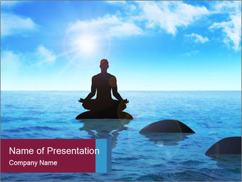 Silhouette PowerPoint Template - Slide 1