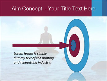 Silhouette PowerPoint Template - Slide 83